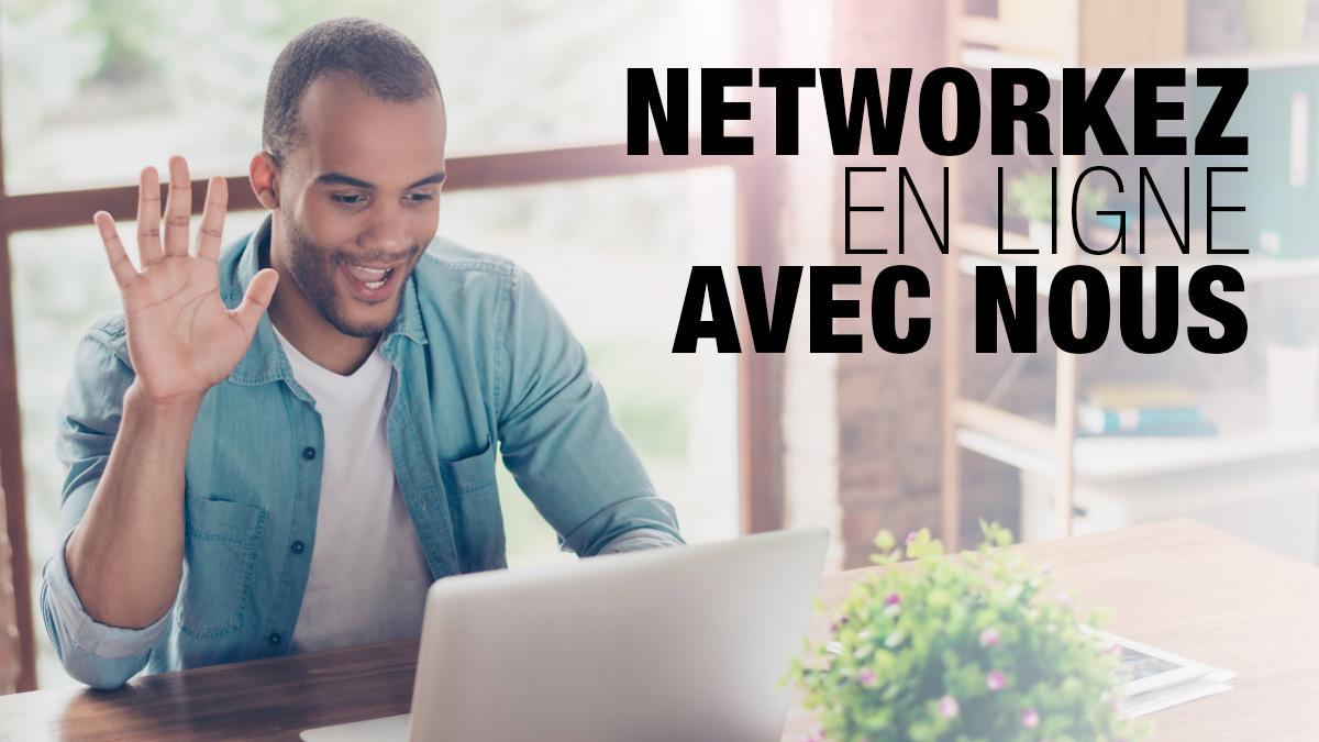 L'activité Freedly continue, alors networkez en ligne avec nous !