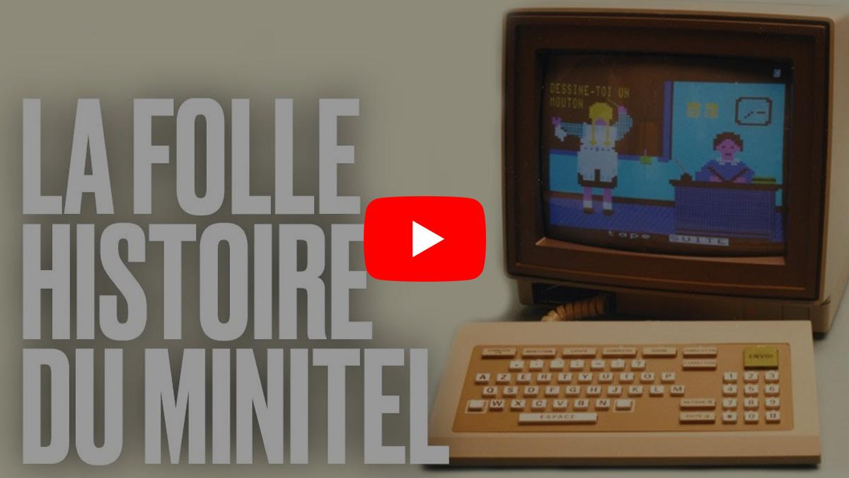 Histoire passionnante du petit écran, ancêtre d'internet : Le Minitel