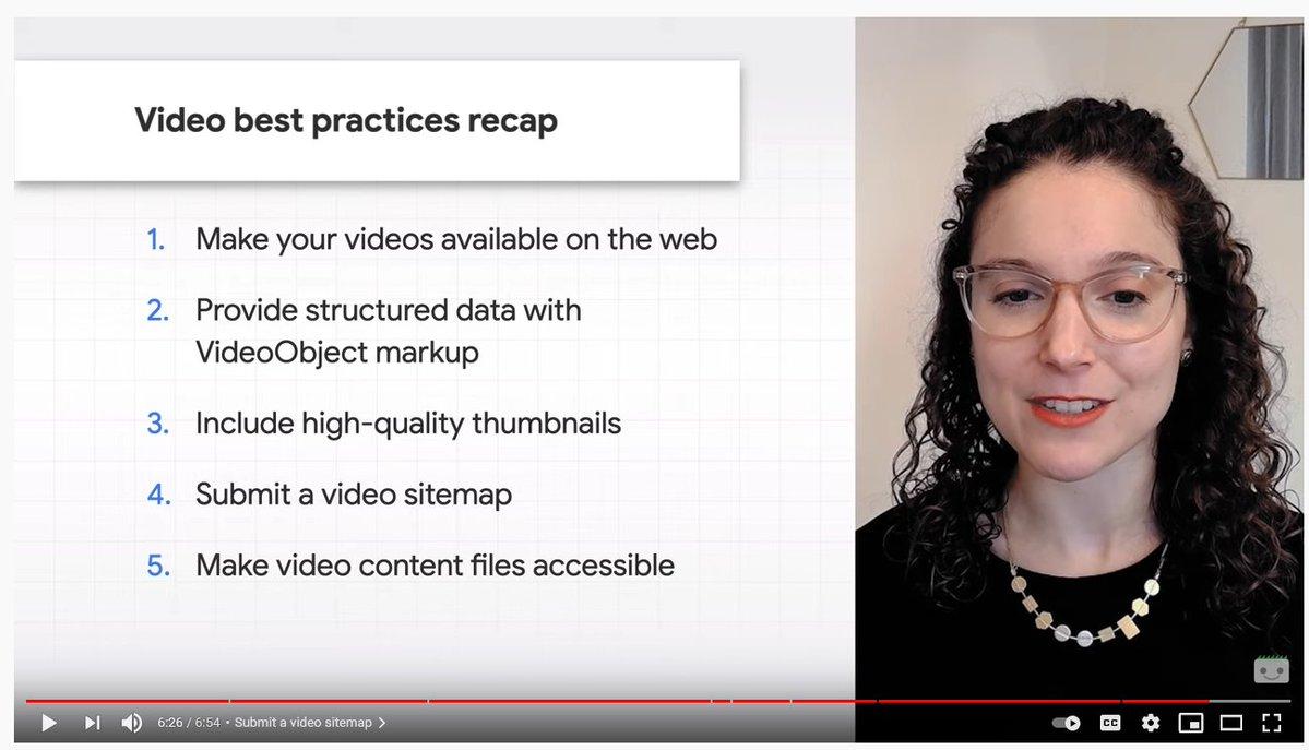 Référencement de vos vidéos, les conseils SEO de Freedly et de Google