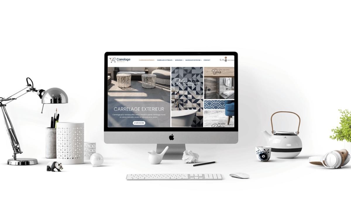 Mise en ligne du site e-commerce prestashop Carrelage-Market.com